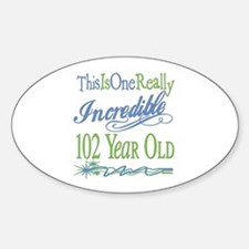 Incredible 102nd Oval Decal