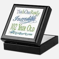 Incredible 102nd Keepsake Box
