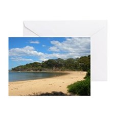 Sunny Pearl Beach, NSW Greeting Cards (10 Pk)