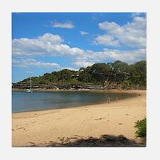 Sunny Pearl Beach, NSW Tile Coaster