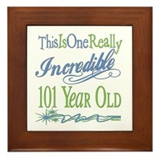 Incredible 101st Framed Tile