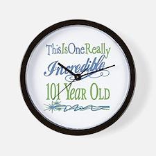 Incredible 101st Wall Clock