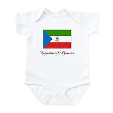 Equatorial Guinea Flag Infant Bodysuit