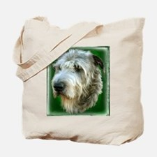 Irish Wolfhound Head Study Tote Bag