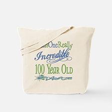 Incredible 100th Tote Bag