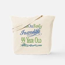 Incredible 99th Tote Bag