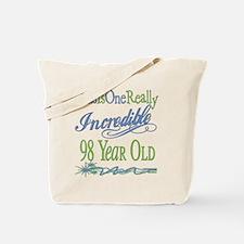 Incredible 98th Tote Bag