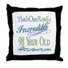 Incredible 98th Throw Pillow