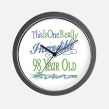 Incredible 98th Wall Clock