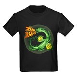 Kids dragon shirt Kids T-shirts (Dark)