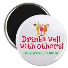 Drinks Well With Others - Magnet