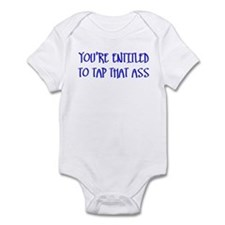 """You're Entitled to Tap That Infant Bodysuit"