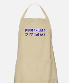 """""""You're Entitled to Tap That BBQ Apron"""
