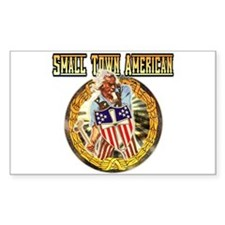 SMALL TOWN AMERICAN PRIDE GIFTS Decal
