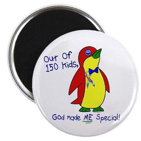"God Made Me Special 1.2 (Autism) 2.25"" Magnet (10"