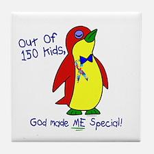 God Made Me Special 1.2 (Autism) Tile Coaster
