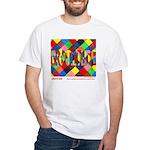 Gratitude Unisex White T-Shirt