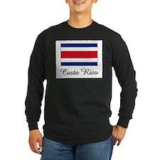 Costa Rico Flag T