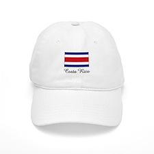 Costa Rico Flag Baseball Cap