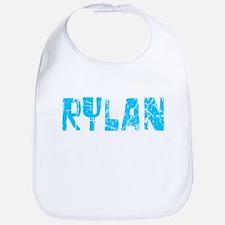 Rylan Faded (Blue) Bib