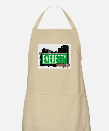 EVERETT AV, BROOKLYN, NYC BBQ Apron