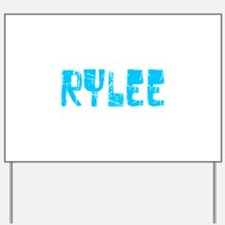 Rylee Faded (Blue) Yard Sign
