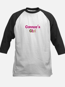 Connor's Girl Kids Baseball Jersey