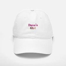 Dave's Girl Baseball Baseball Cap