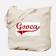 Govea (red vintage) Tote Bag