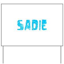 Sadie Faded (Blue) Yard Sign