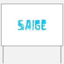 Saige Faded (Blue) Yard Sign