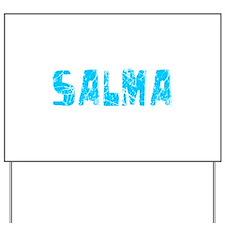 Salma Faded (Blue) Yard Sign