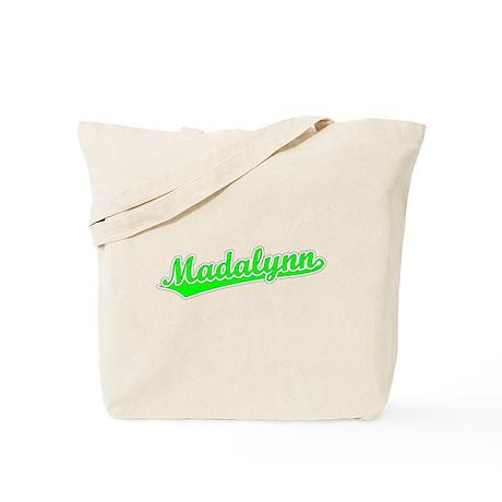 Retro Madalynn (Green) Tote Bag