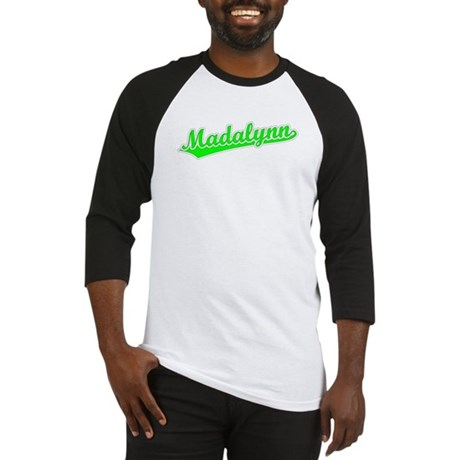 Retro Madalynn (Green) Baseball Jersey