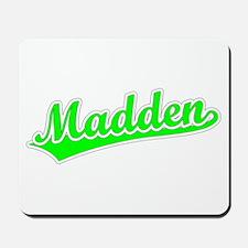 Retro Madden (Green) Mousepad
