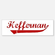 Heffernan (red vintage) Bumper Bumper Bumper Sticker