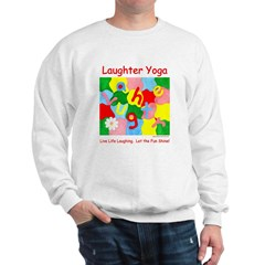 Live Life Laughing Let the Fun Shine Unisex Sweat
