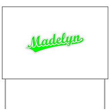 Retro Madelyn (Green) Yard Sign