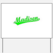 Retro Madisen (Green) Yard Sign