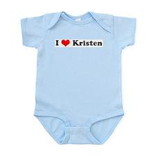 I Love Kristen Infant Creeper