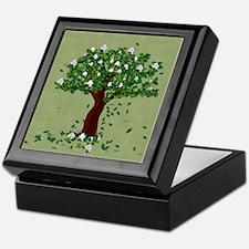 Magnolia Keepsake Box
