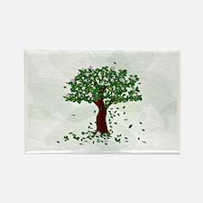 Magnolia Rectangle Magnet (10 pack)