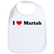 I Love Mariah Bib