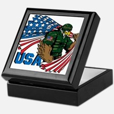 USA Keepsake Box