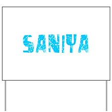 Saniya Faded (Blue) Yard Sign