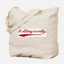 Hollingsworth (red vintage) Tote Bag