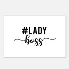 Lady Boss Postcards (Package of 8)