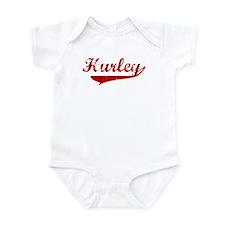 Hurley (red vintage) Infant Bodysuit