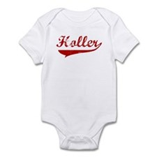 Holler (red vintage) Infant Bodysuit
