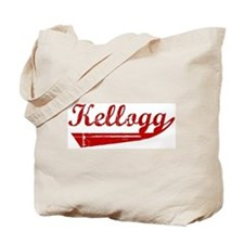 Kellogg (red vintage) Tote Bag